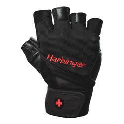 Harbinger Pro WristWrap L Gewichthefhandschoenen voor heren