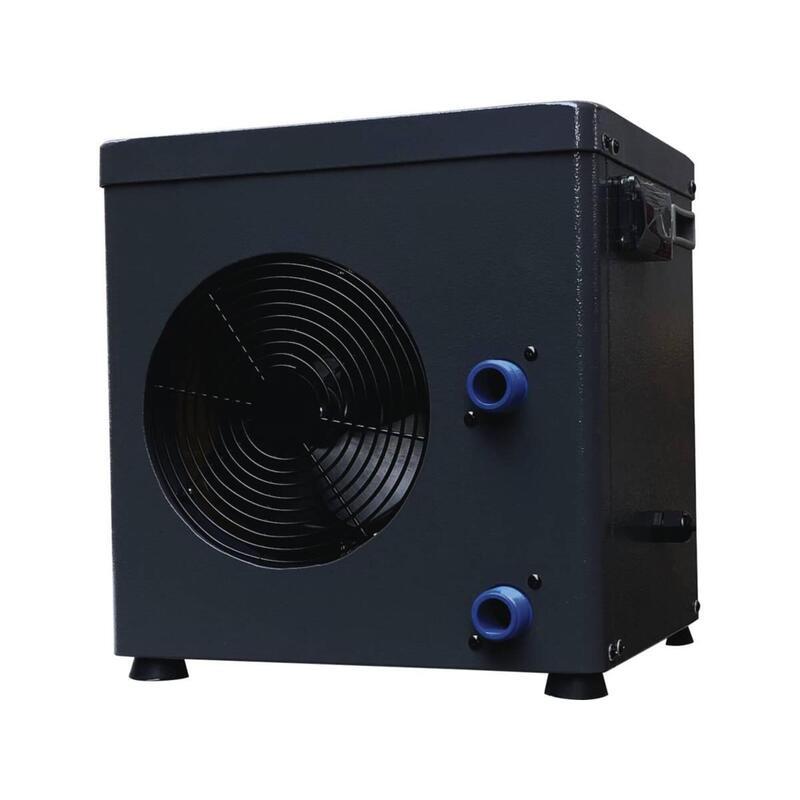 Mini pompe à chaleur 3.4kW - Métal - Gris foncé