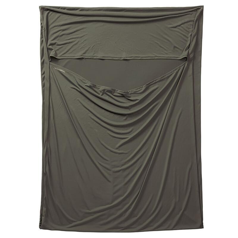NosiLife Sleeping Bag Liner (Dark Khaki)