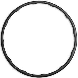 Hula hoop de fitness - Noir - 1.5kg