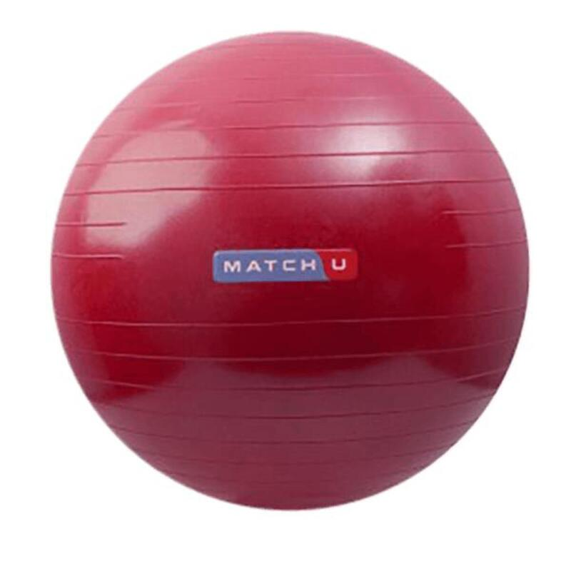 Fitness ball 55 cm rouge
