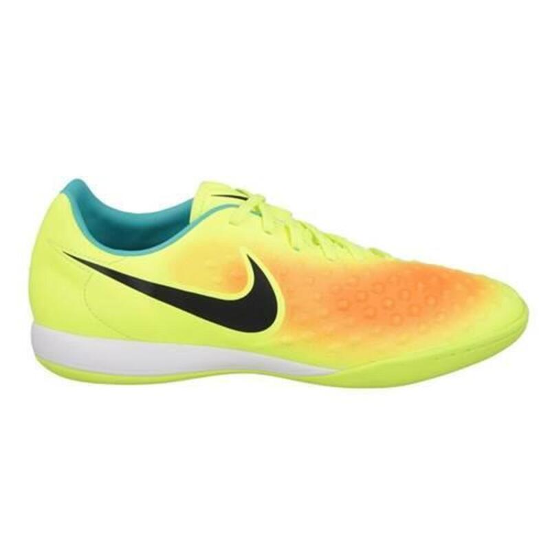 Magista Onda II hommes football chaussures Blanc,Jaune,Turquoise