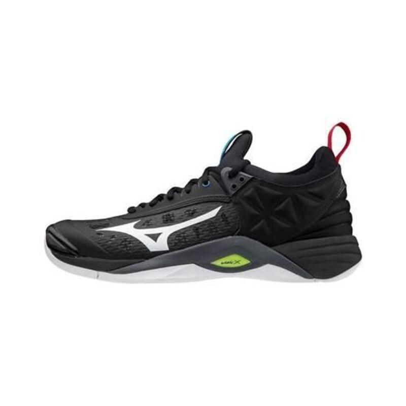 Wave Momentum hommes volleyball chaussures Noir,Gris