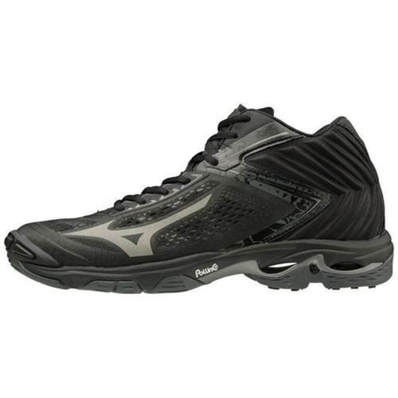 Wave Lightning Z5 Mid hommes volleyball chaussures Noir