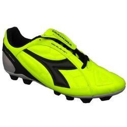Eleven R MD hommes football chaussures Noir,Vert clair