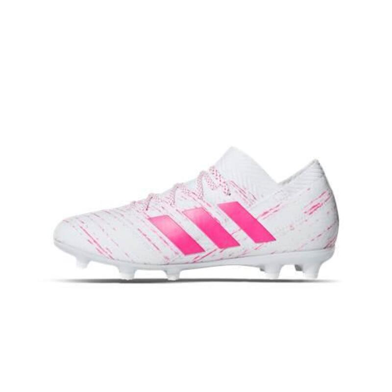 Nemeziz 181 FG Junior Virtuso Pack enfants football chaussures Blanc,Rose
