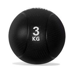 VirtuFit Médecine Ball Pro - 3 kg - Caoutchouc - Noir