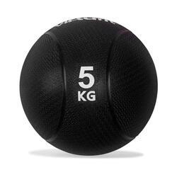 VirtuFit Médecine Ball Pro - 5 kg - Caoutchouc - Noir