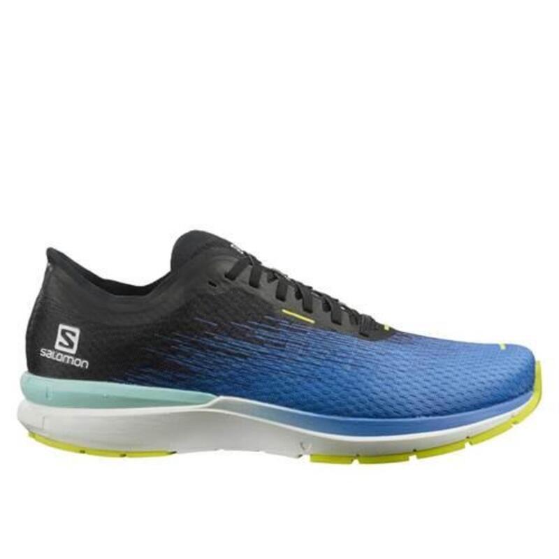 Sonic 4 Accelerate M Voor heren om hard te lopen schoenen Zwart,Blauw