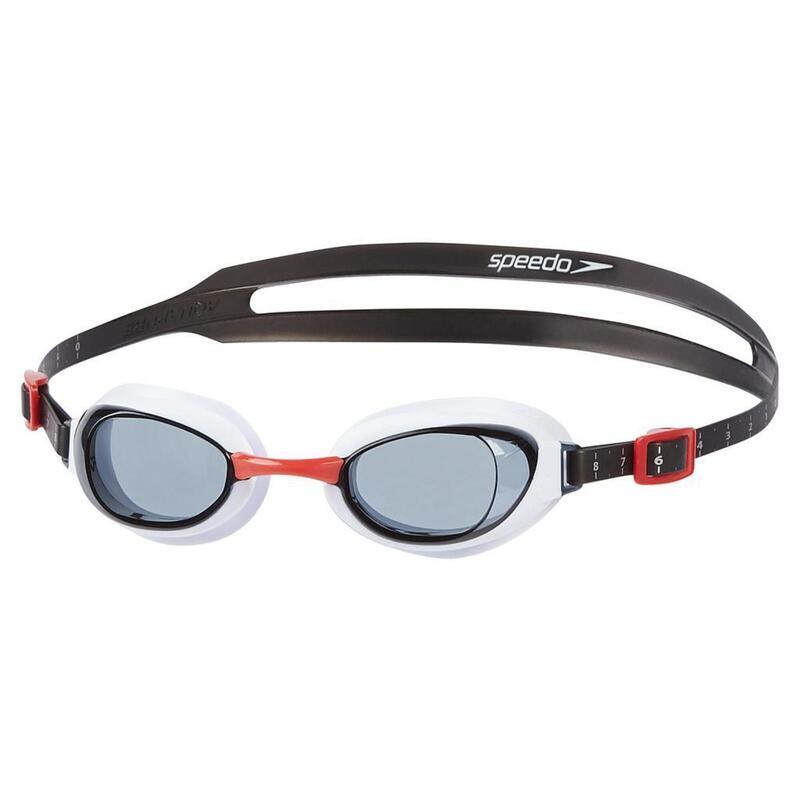 Zwembril Unisex Volwassene Aquapure (Rood/rook)