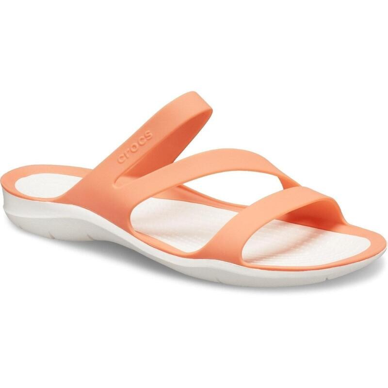 Dames/dames Swiftwater Slip On Sandalen (Licht Oranje/Wit)