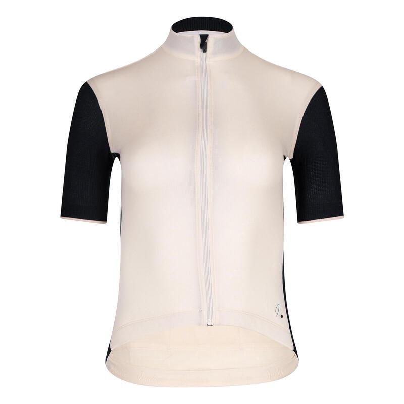 Women's Signature Cycling Jersey Antique White/Jet Black