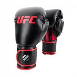 Gants de boxe UFC Contender Muay Thai Style (Kick) - Noir / Rouge - 14 oz