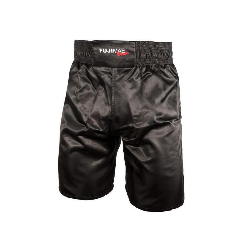 Short de boxe Fuji Mae Basic noir