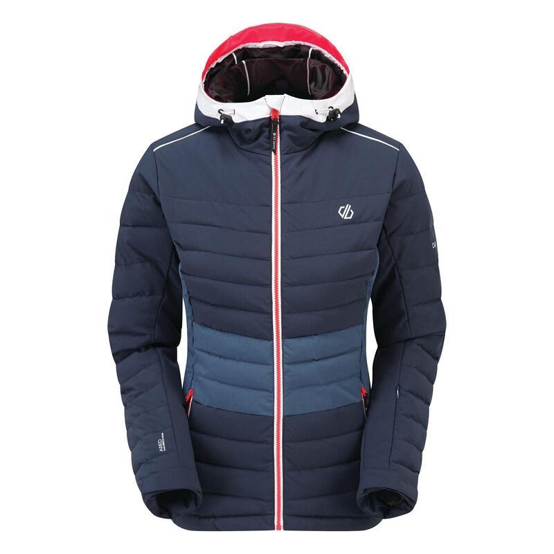 Womens/Ladies Succeed Quilted Ski Jacket (Nightfall Navy/Dark Denim)