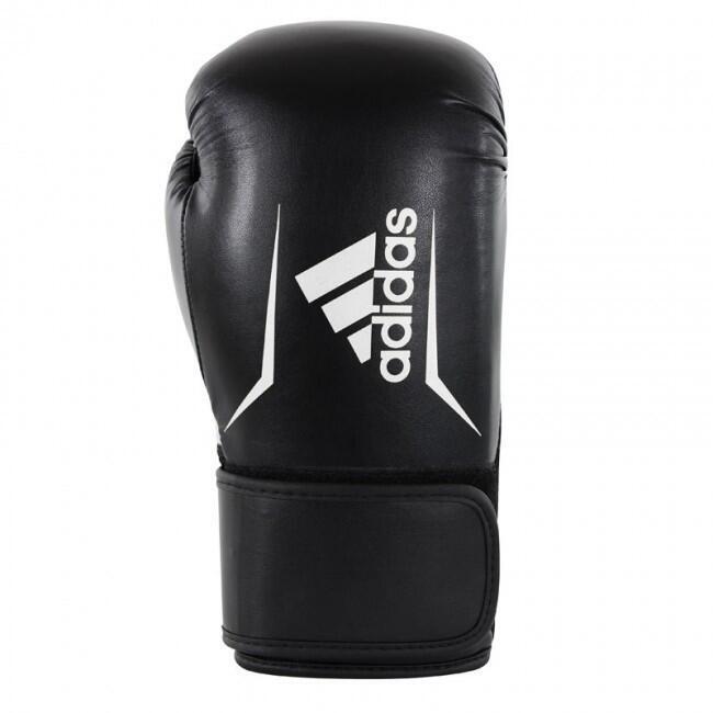 Gants de boxe Adidas Speed 100 Noir / Blanc - 14 oz