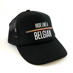 Ride Like A Belgian Trucker Cap