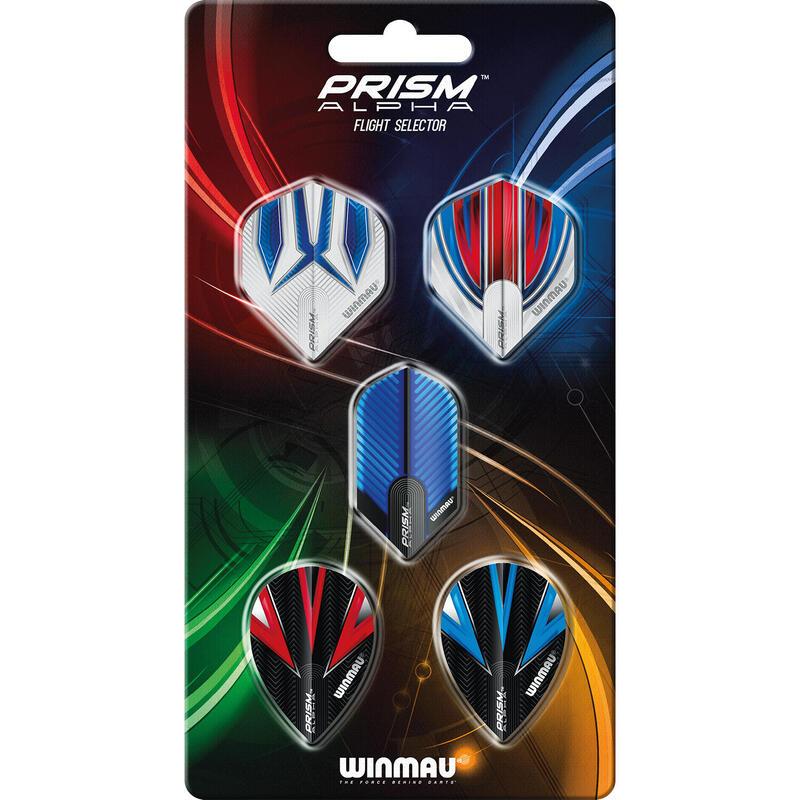 Collection de alettes Winmau Prism Alpha