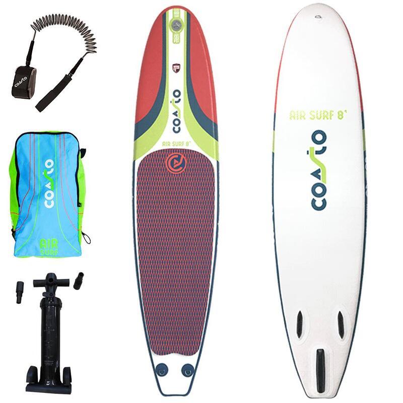 Surfboard / opblaasbare surfplank - Coasto Air Surf 8'