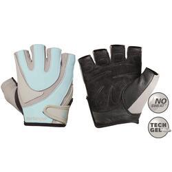 Harbinger Women's Training Grip Fitness Handschoenen - Blauw/Grijs - M