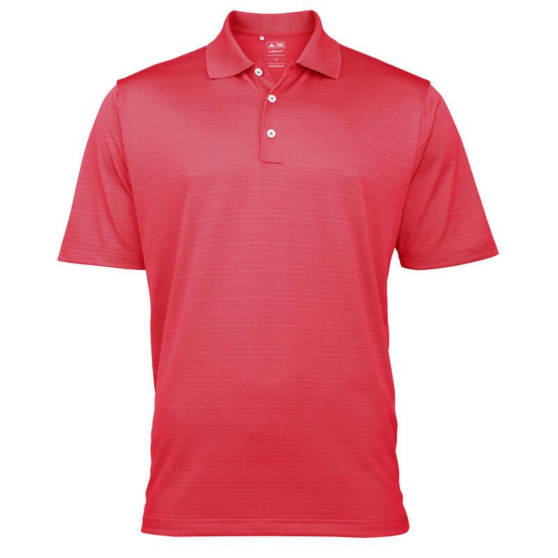 Golf Climalite Mens Textured Solid Polo Shirt (Kameroen)