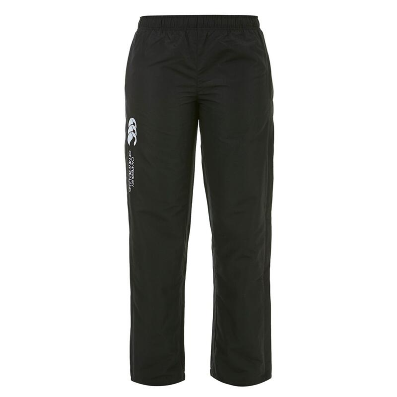 Womens/Ladies Stadium Elasticated Sports Trousers (Black)