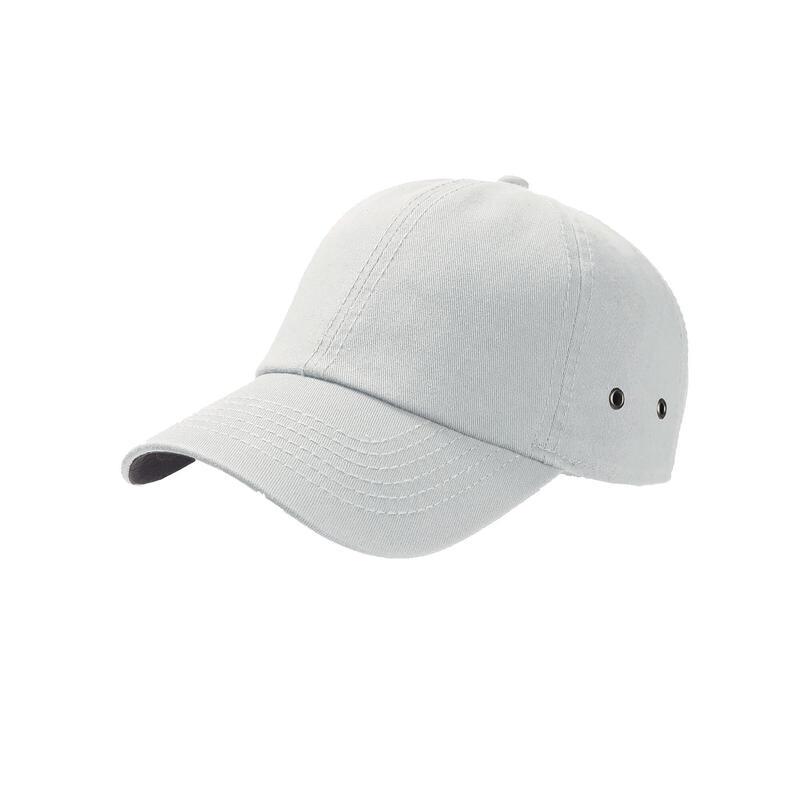 Action 6 Panel Chino Baseball Cap (White)