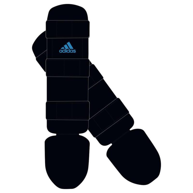 Adidas Scheenbeschermer Good - Zwart/Blauw - XS