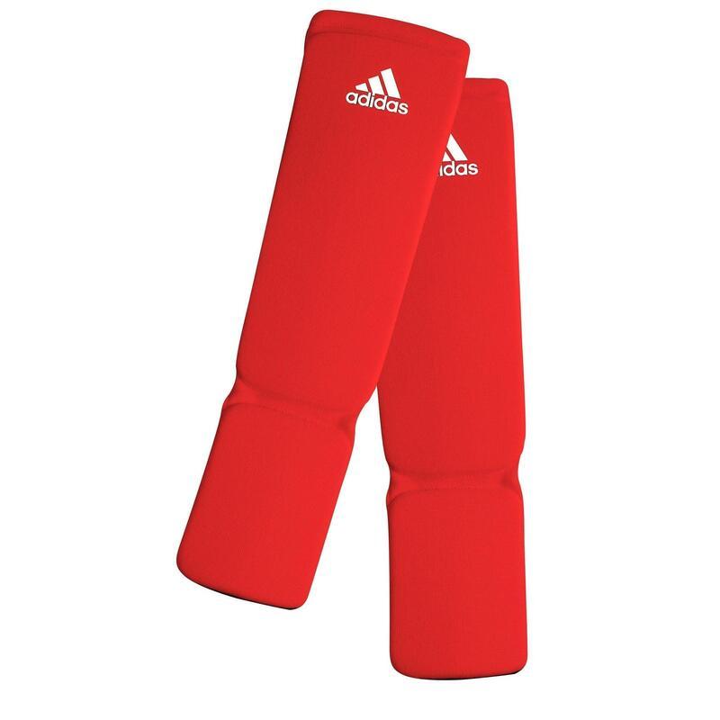 Adidas Elastische Scheenbeschermers - Rood - XL