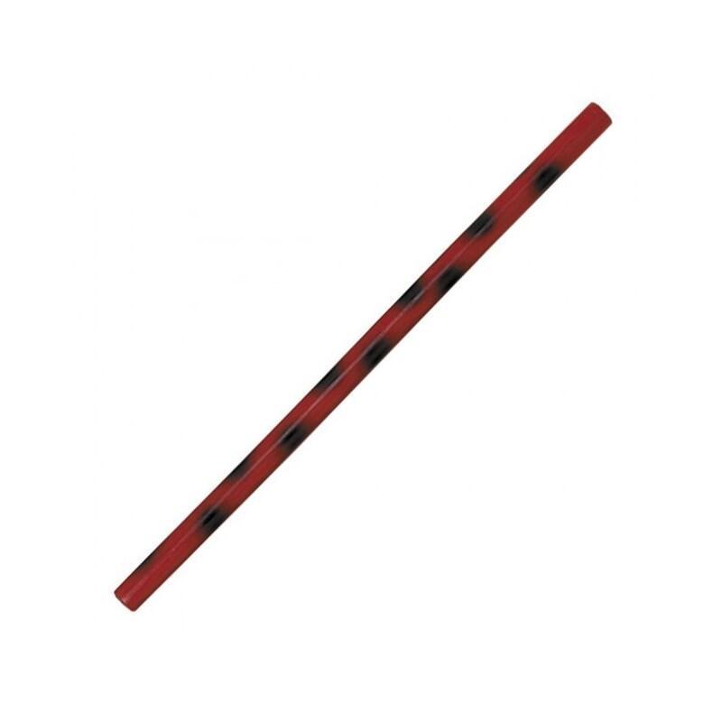 Baton de Kali 66 cm Rouge et Noir verni