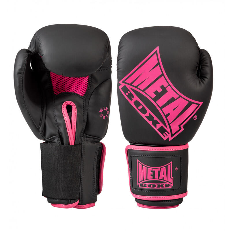 Gants Boxe Fuschia pour femmes METAL BOXE