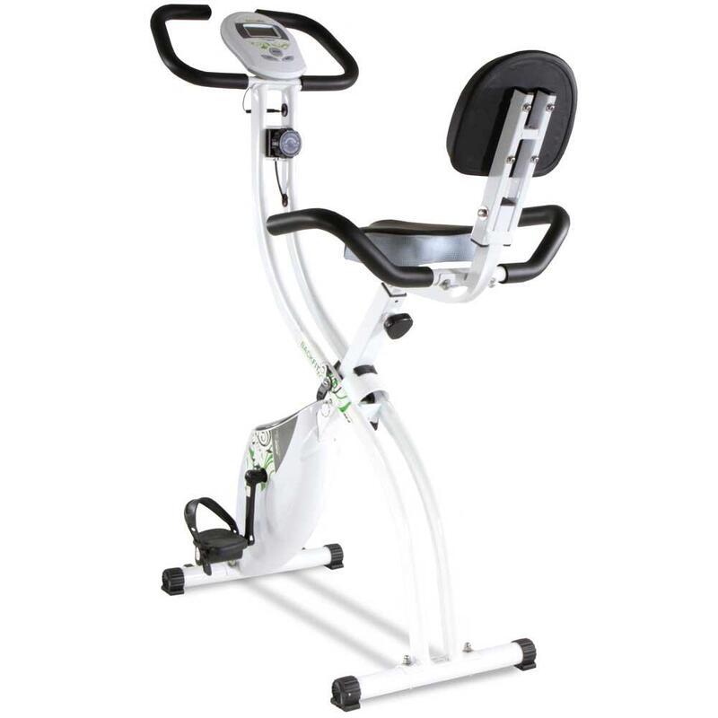 Bicicleta estática plegable y con respaldo. Back Fit YF91