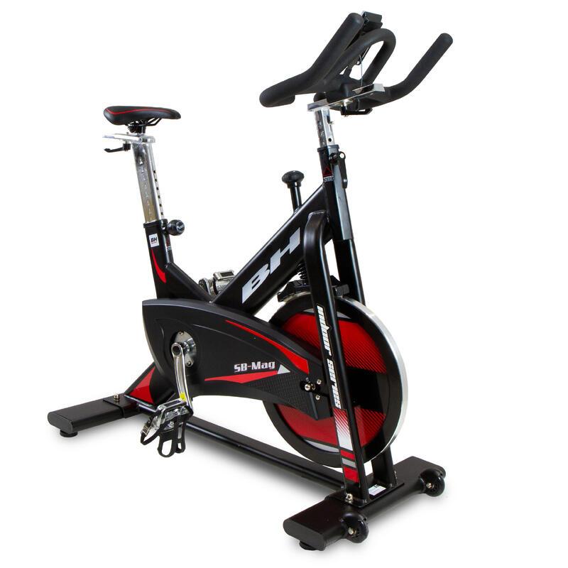 Bicicleta indoor SB MAG H9168. Magnetica. 20 Kg. pedales mixtos