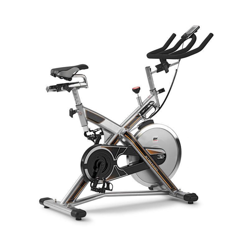 Vélo de biking MKT JET BIKE PRO H9162RFFR. À friction. Volant Inertie 22 kg.