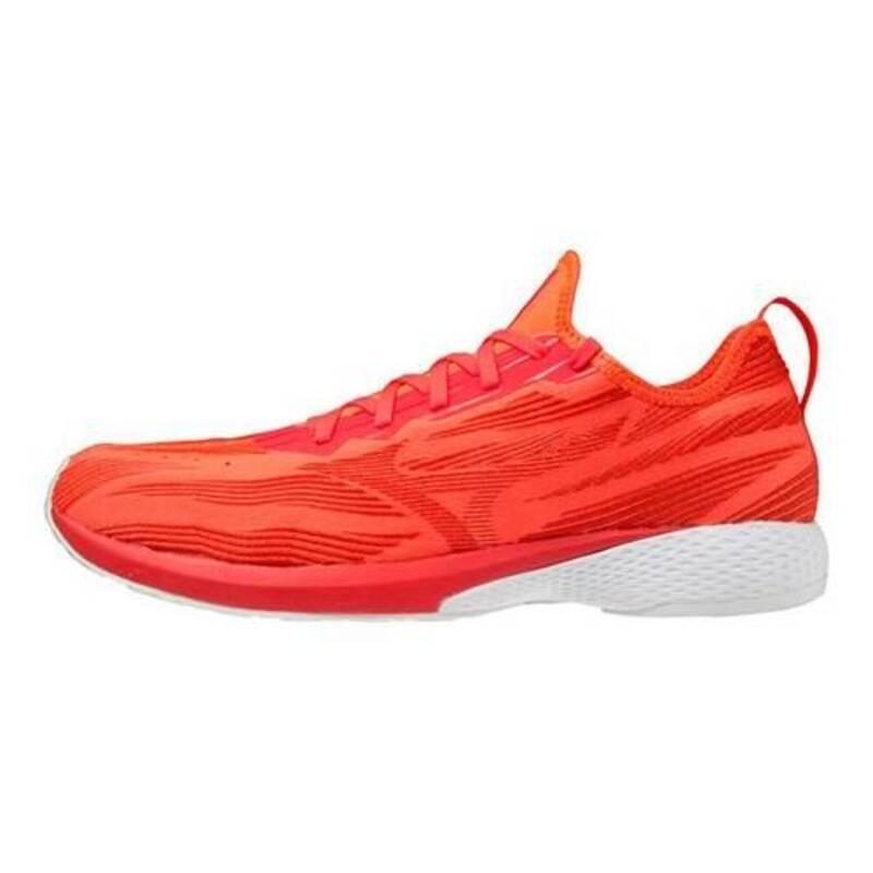 Wave Aero 19 Voor heren om hard te lopen schoenen Rood