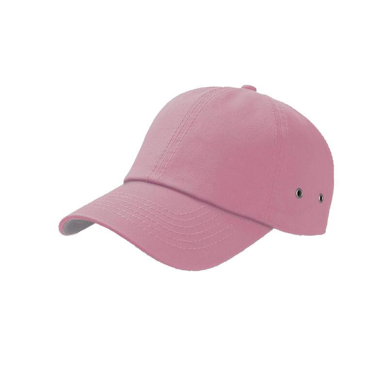Action 6 Panel Chino Baseball Cap (Pink)