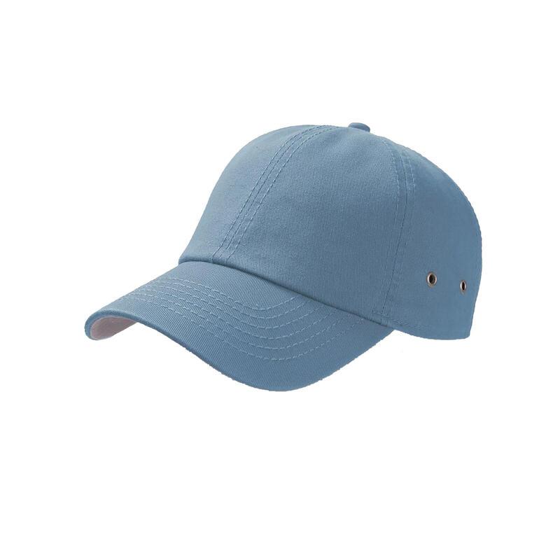 Action 6 Panel Chino Baseball Cap (Light Blue)