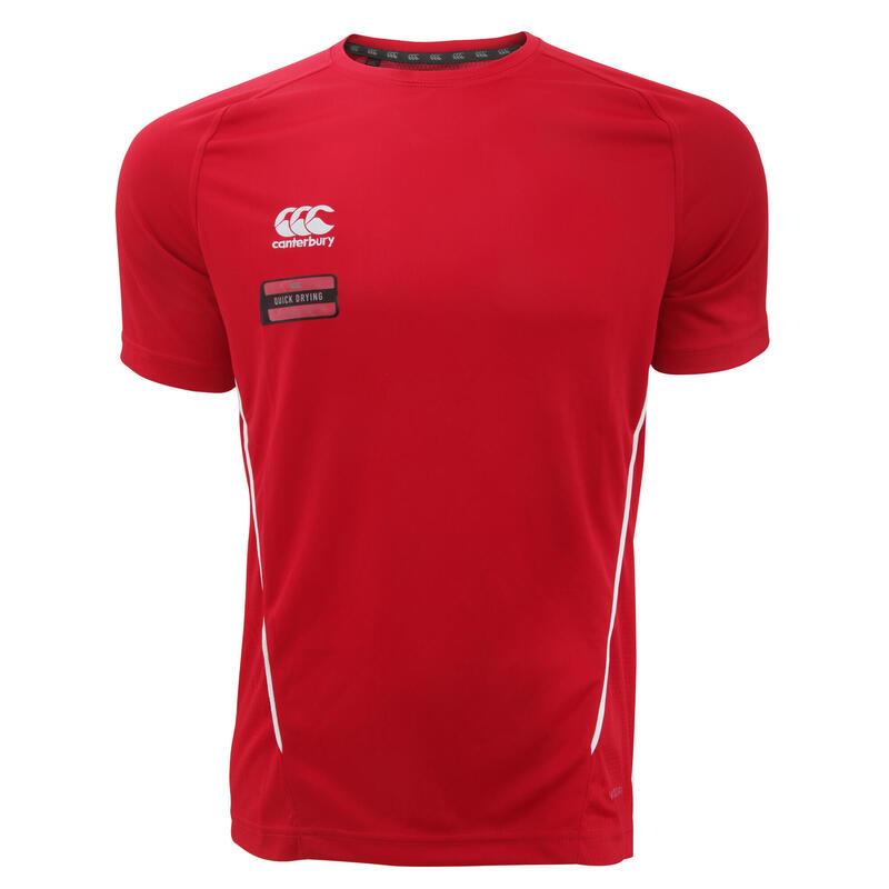 Tshirt à manches courtes Homme (Rouge/Blanc)