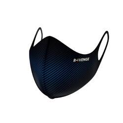 Wasbare barrièremaskers covid-19 voor mannen Superior Carbon blauw