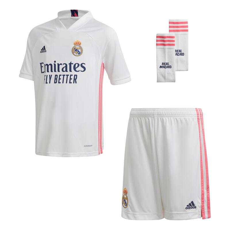 Mini-kit domicile Real Madrid 2020/21