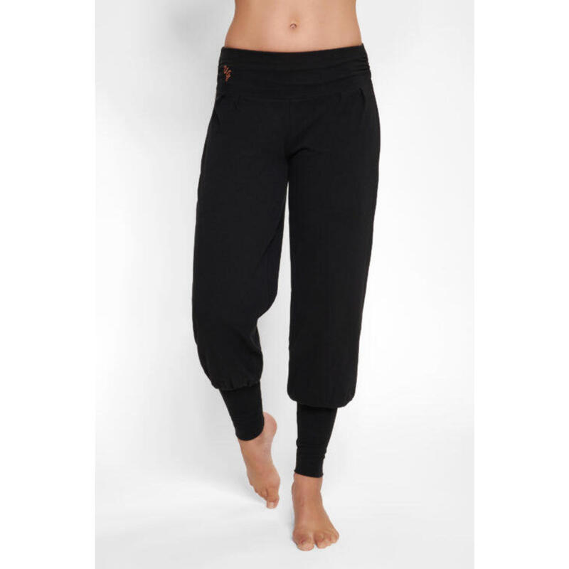 Dakini - Pantalon Aladdin ample confortable  - Urban Black - Noir