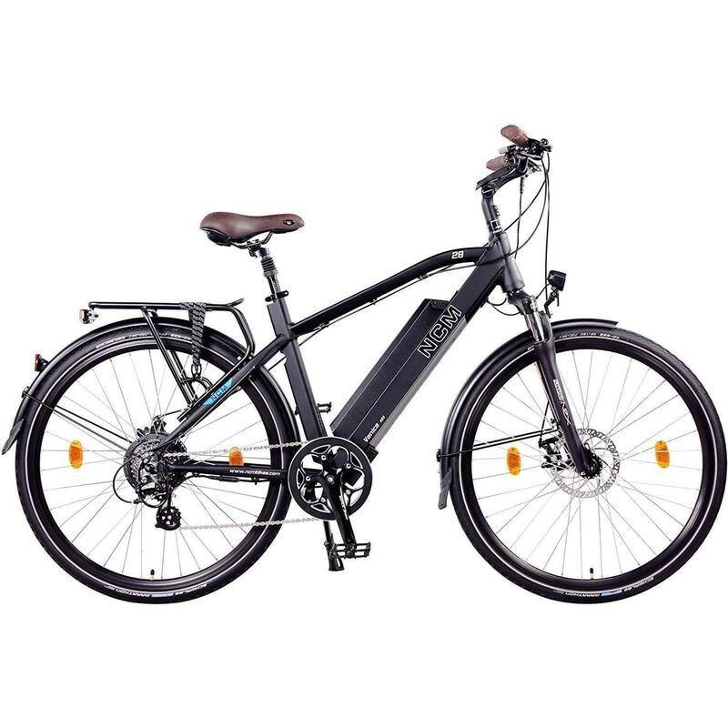 """Vélo Electrique Urbain NCM Venice Noir - 28"""", 250W, Batterie 48V 13Ah 624Wh"""
