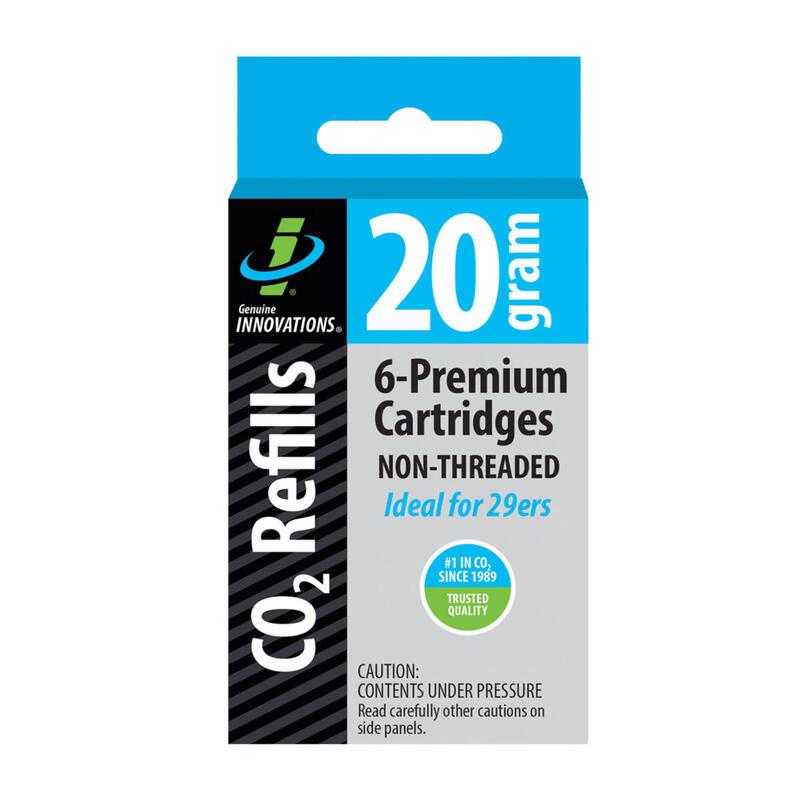 20g Non-Threaded CO2 Catridges (6 Pack)