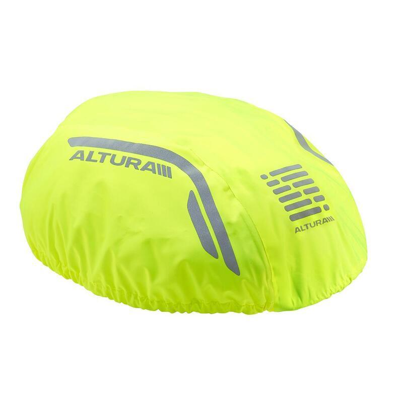 Nightvision Waterproof Helmet Cover Mens|Womens Urban Hi-Viz Yellow One Size