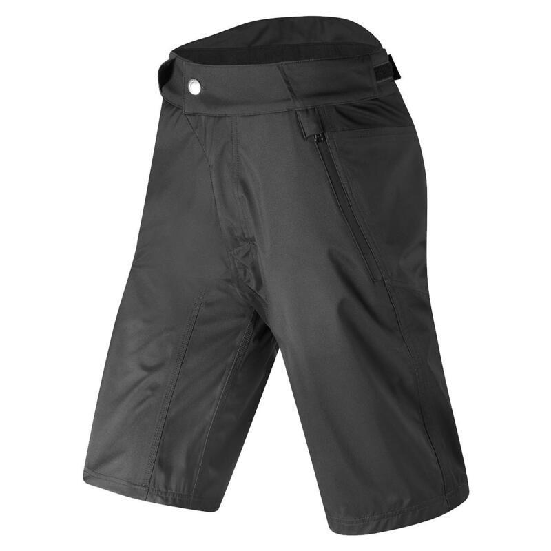 All Road Waterproof Short Mens Urban | MTB Black/Black S Waterproof | Hi-Viz