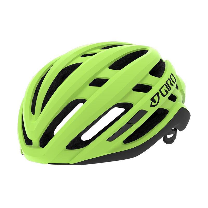 Agilis MIPS Road Helmet Mens Womens Road Highlight Yellow L 59-63cm MIPS