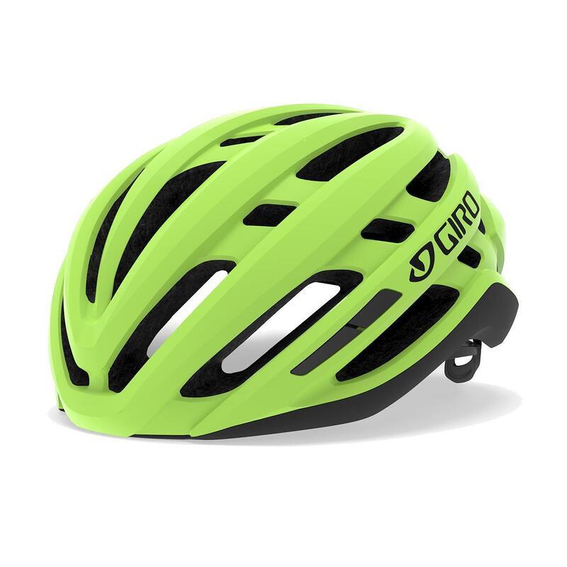 Agilis Road Helmet Mens Womens Road Highlight Yellow M 55-59cm