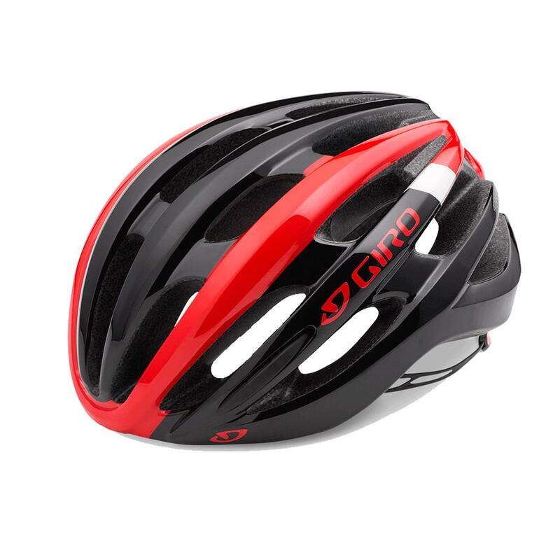 Foray Road Helmet Mens Road   Road Bright Red/Black S 51-55cm