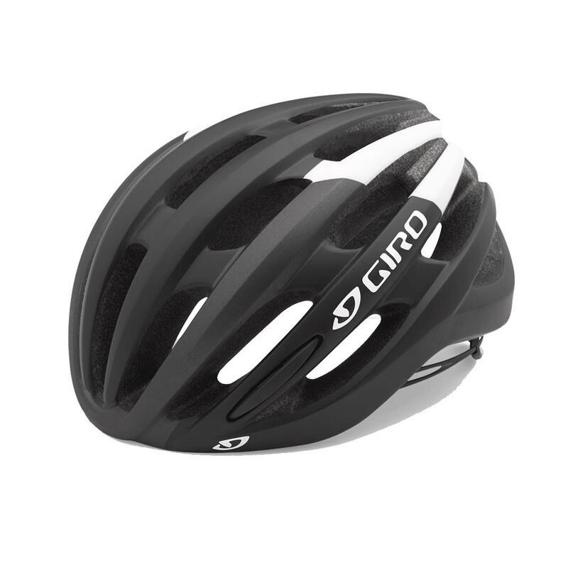 Foray Road Helmet Mens Road Black/White S 51-55cm
