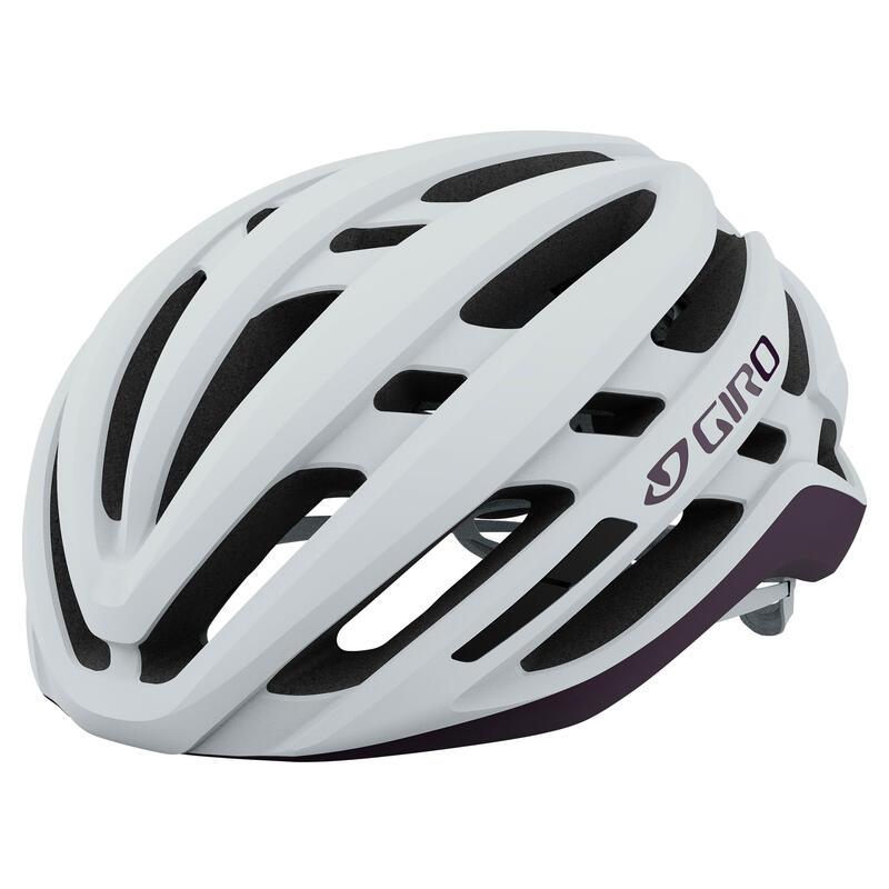 Agilis Women's Road Helmet Road Matte White/Urchin S 51-55cm